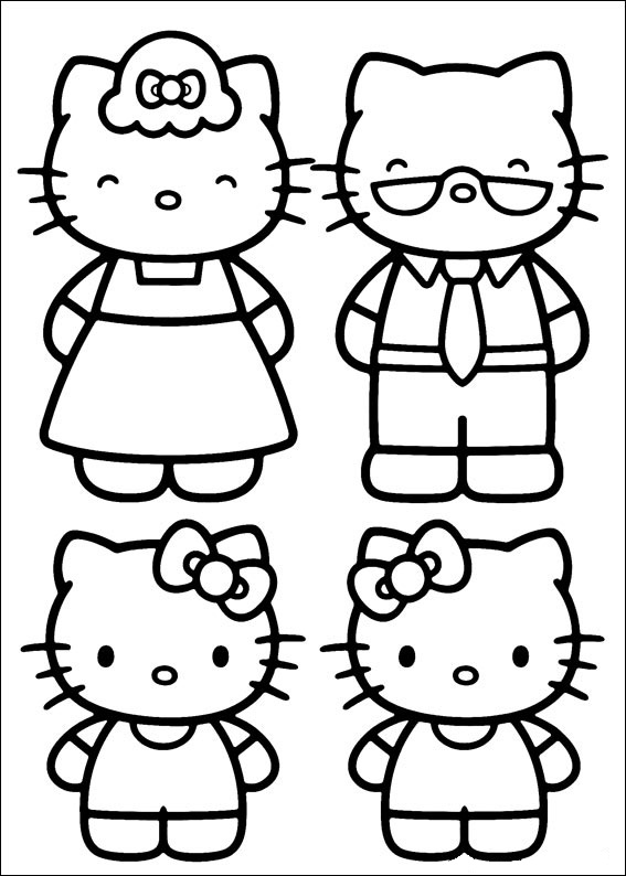 Hello Kitty ausmalbilder für kinder 10