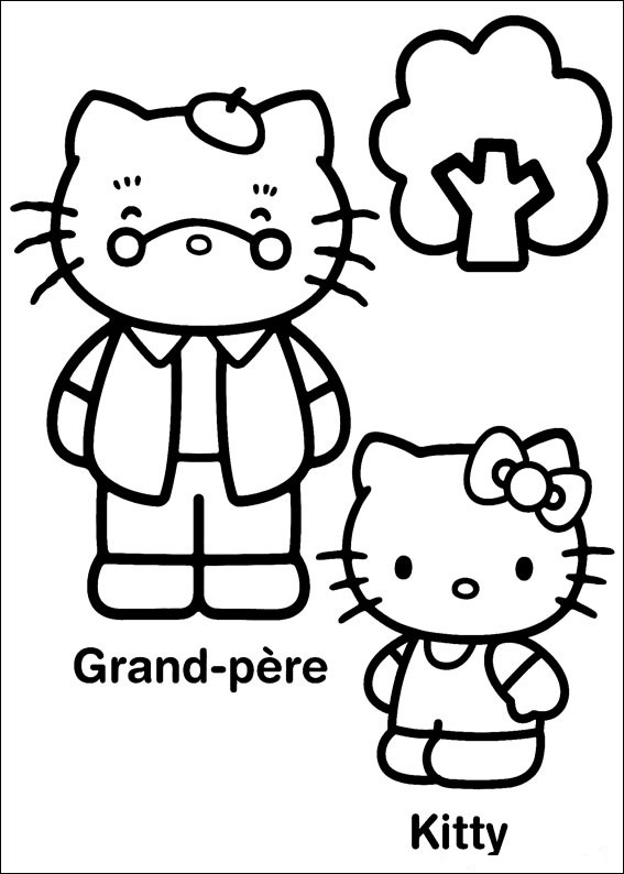 Bilder von Hello Kitty ausmalbilder 11