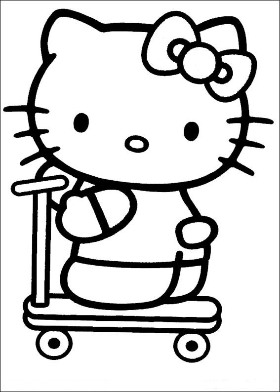 Bilder von Hello Kitty ausmalbilder 12