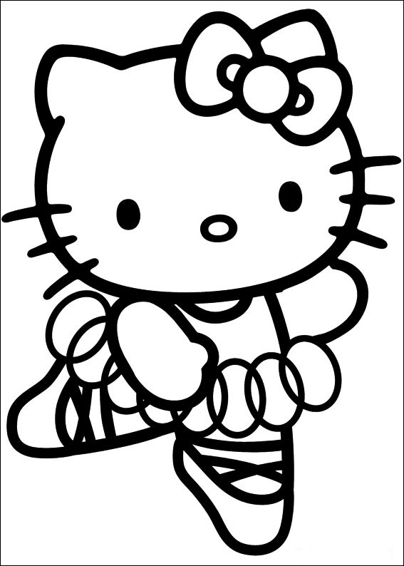 Hello Kitty ausmalbilder gratis 4