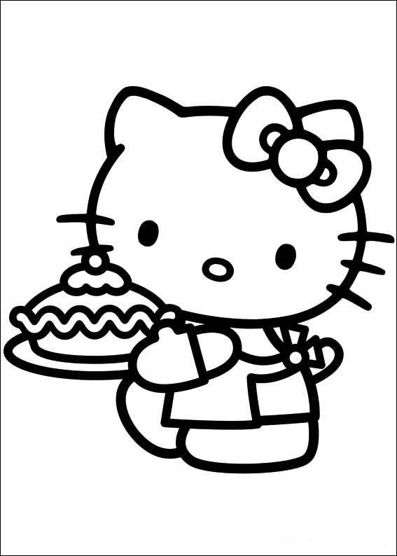 Bilder von Hello Kitty ausmalbilder 5