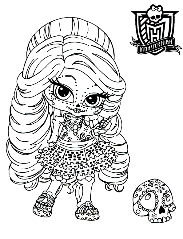 Monster High Ausmalbilder 10 Ausmalbilder Gratis
