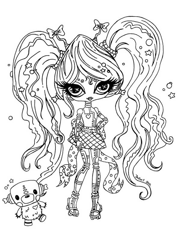 Monster High ausmalbilder 30