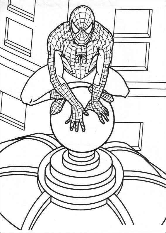 Spiderman ausmalbilder 11