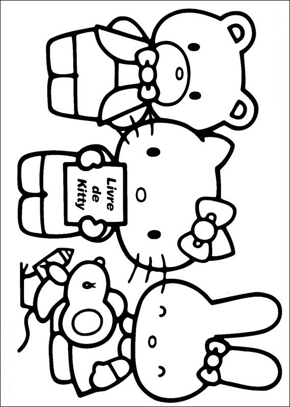 Hello Kitty ausmalbilder gratis 17