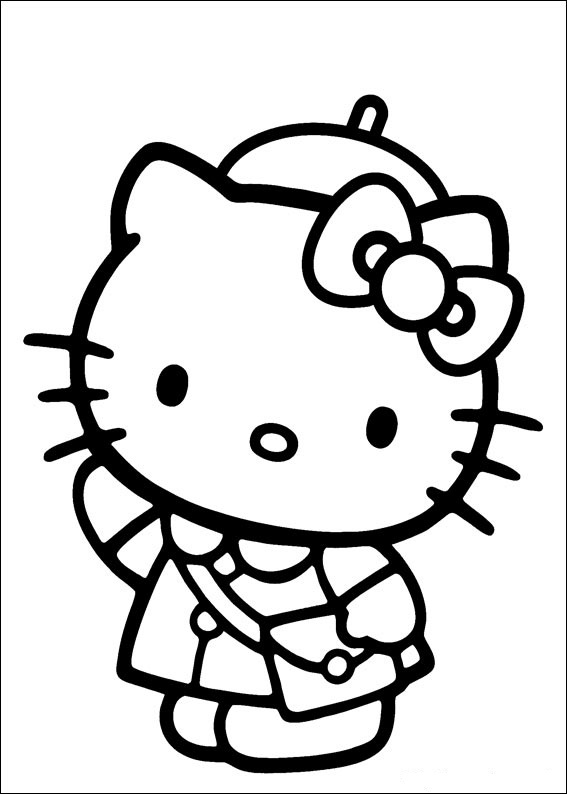 Hello Kitty ausmalbilder gratis 20