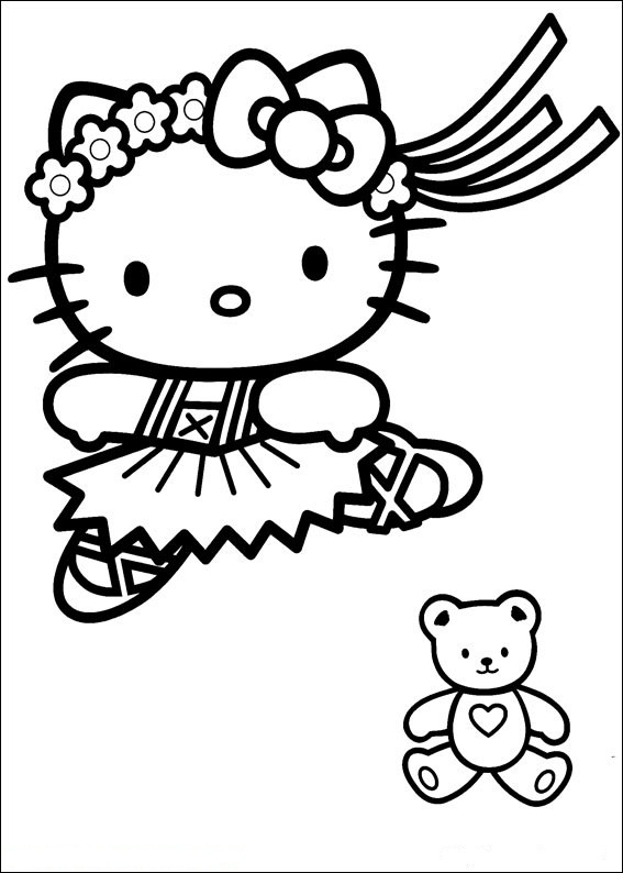 Hello Kitty ausmalbilder gratis 26