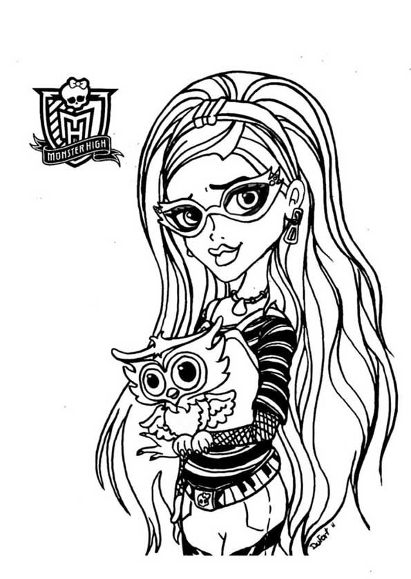 Monster High 78 ghoulia yelps