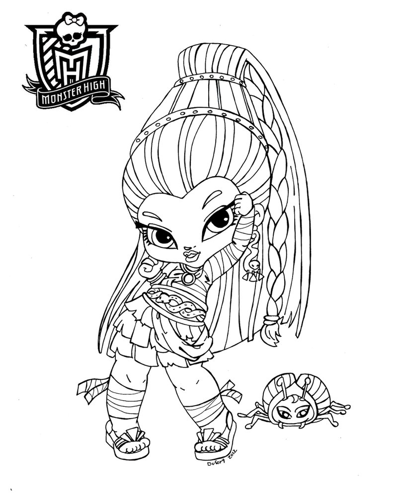 Ausmalbilder Monster High 51 | Ausmalbilder gratis